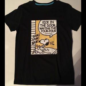 Other - Snoopy peanuts biggie medium black T-shirt